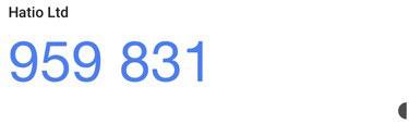 6桁の数字